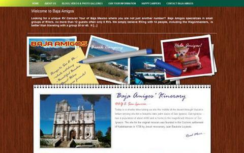 Baja Amigos RV Caravan Tours