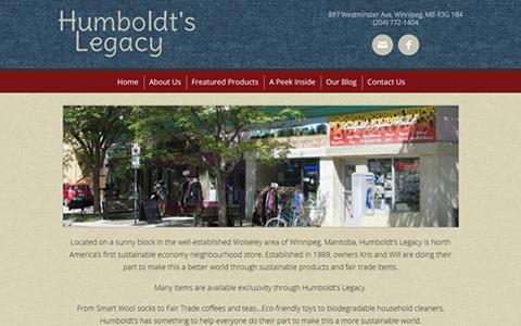 Humboldt's Legacy