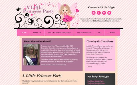 A Little Princess Party
