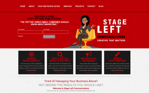 Stage Left Communications