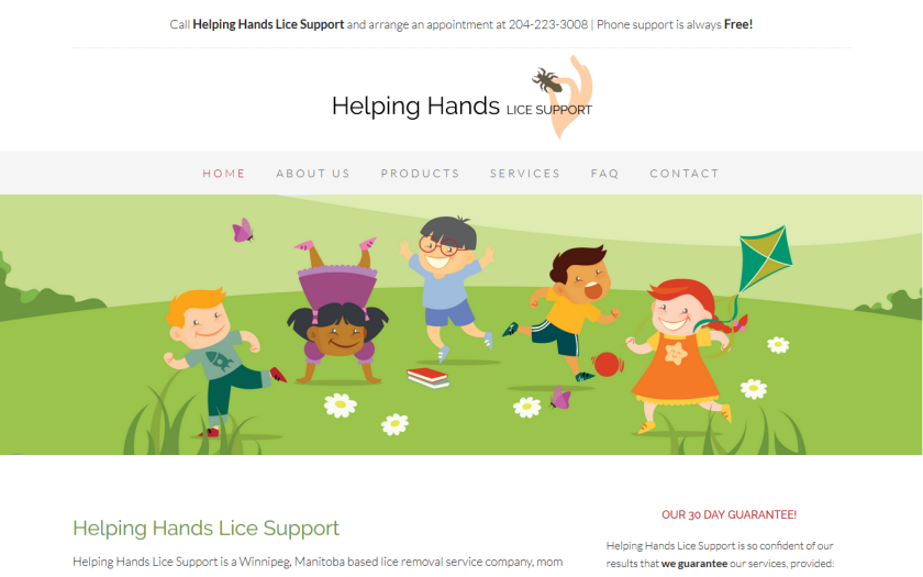 Helping Hands Lice Support