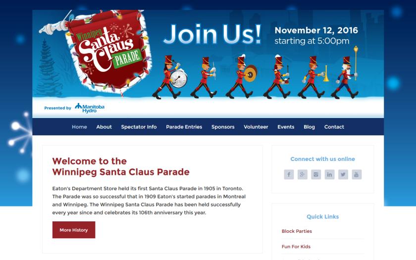 Winnipeg's Santa Claus Parade