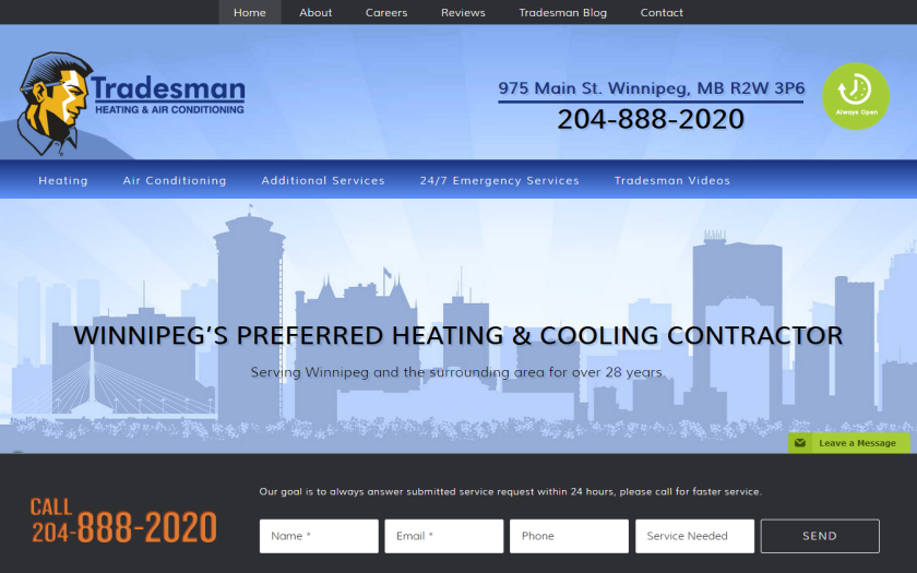 Tradesman Heating & Air Conditioning
