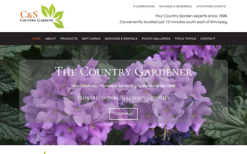 C & S Country Gardener